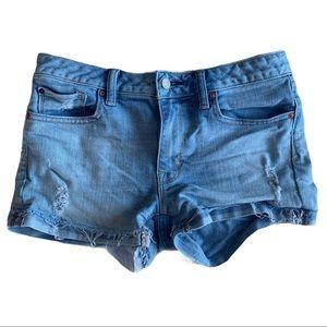 Gap 1969 shortie jean shorts